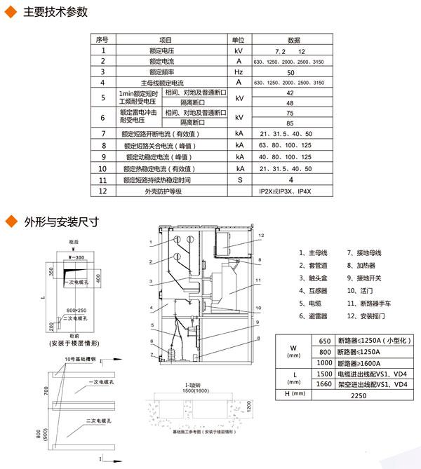 平面布置图; 3,辅助电路电气原理图; 4,柜内元器件清单; 5,主母线材质